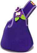 Lunch Purse Purple Flower